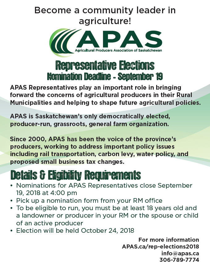 APAS Rep Elections