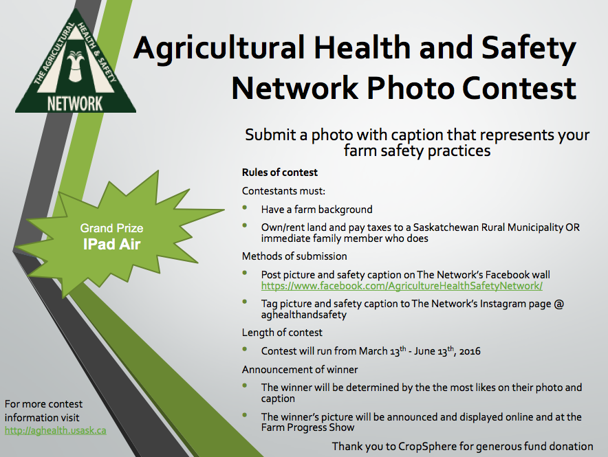 Safety photo contest2016